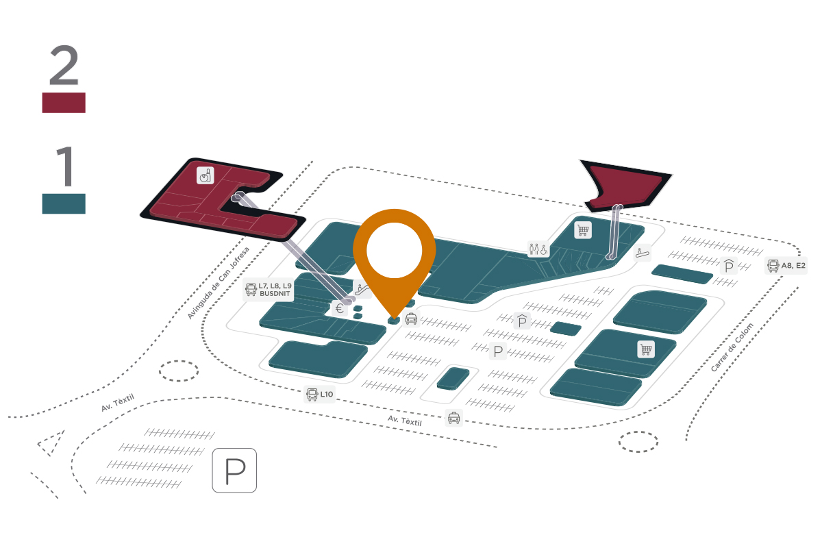 Mapa Botanic Parc Vallès