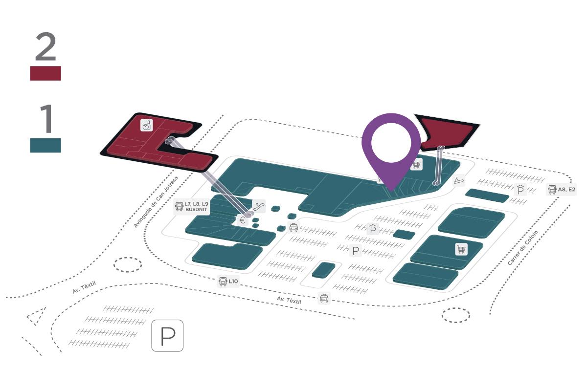Mapa Facial Perfumeries Parc Vallès