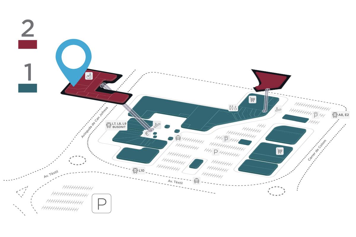 Mapa Goldenpark Parc Vallès