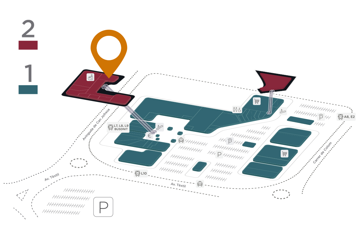 Mapa Green Vita Parc Vallès