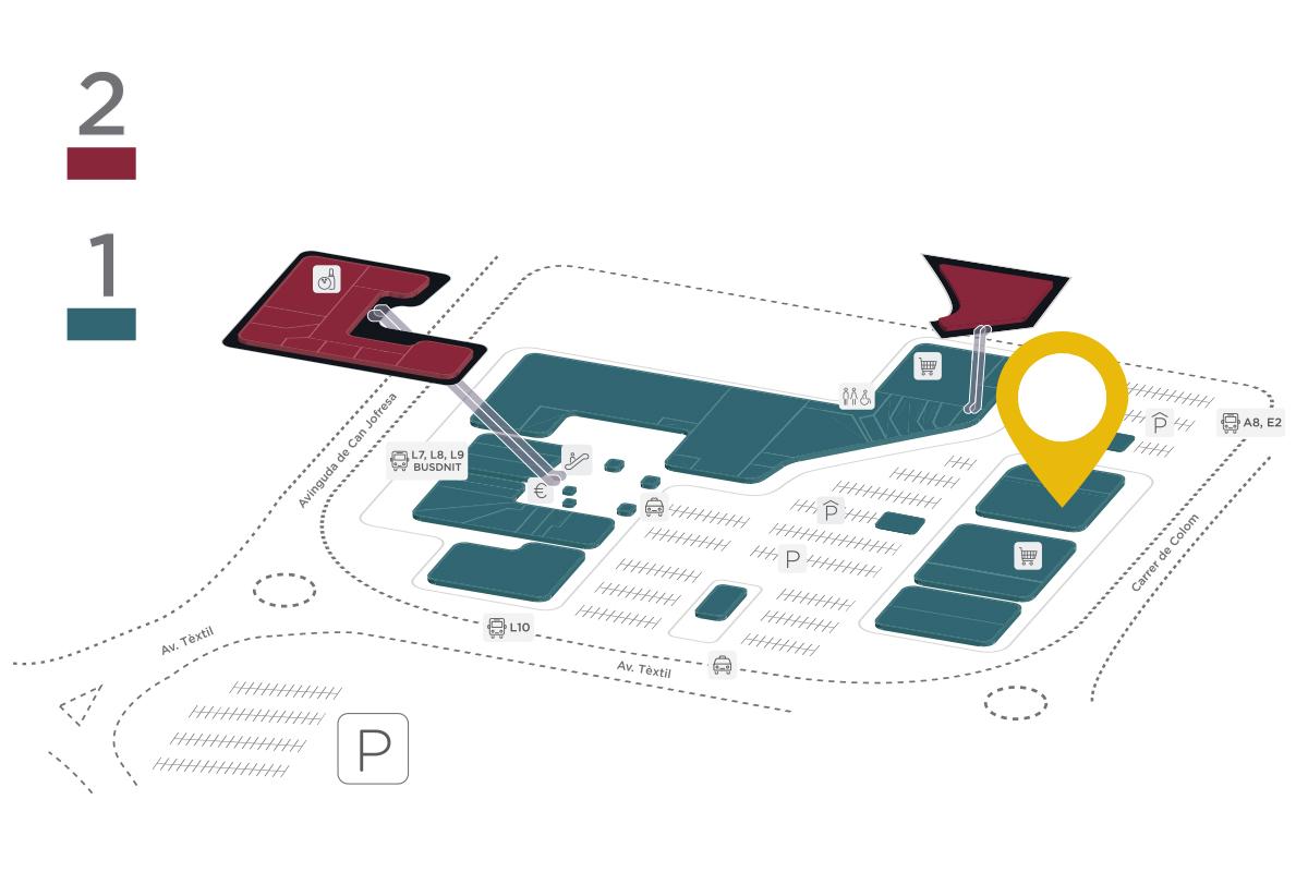 Mapa Maison du Monde Parc Vallès