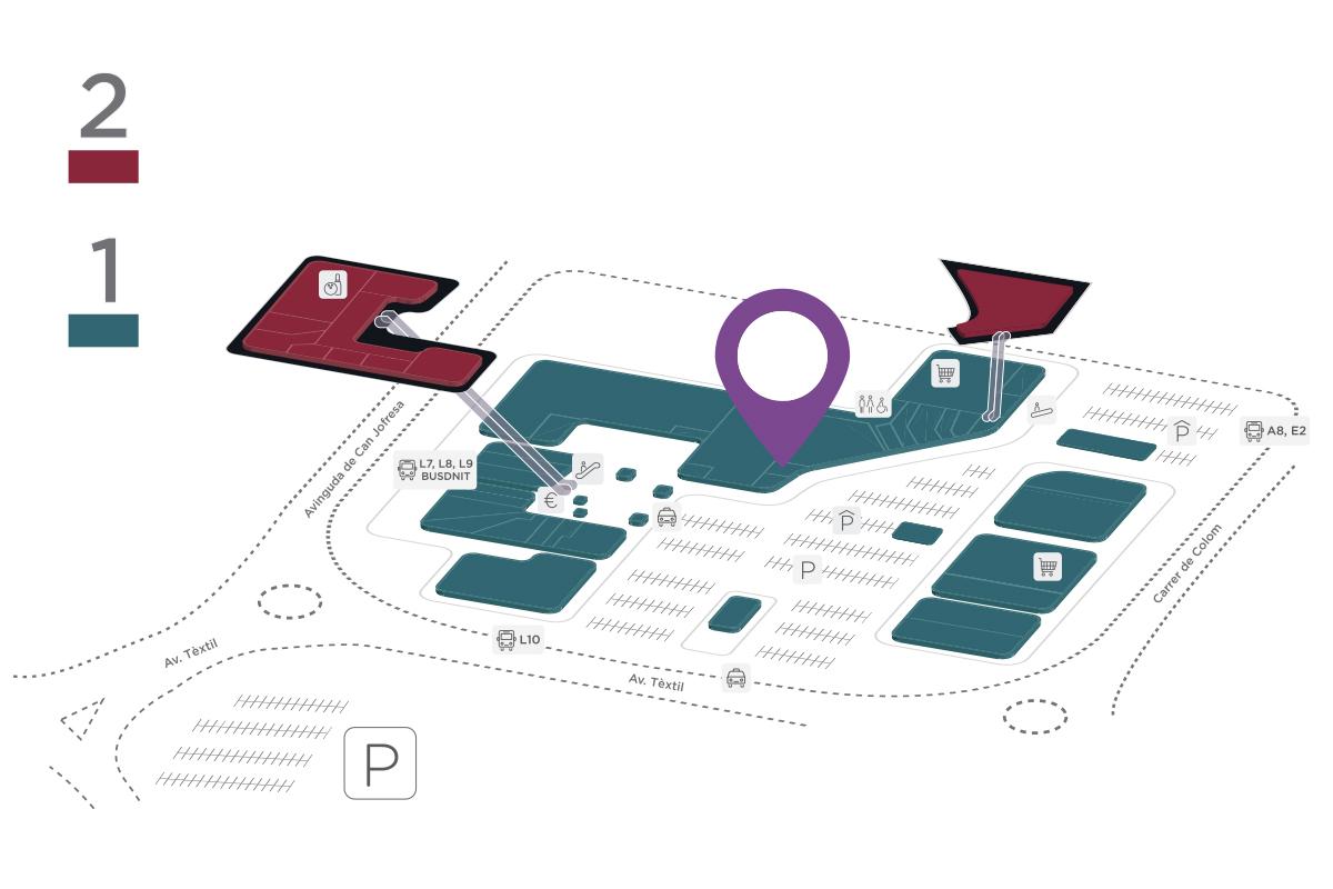 Mapa Marco Aldany Parc Vallès