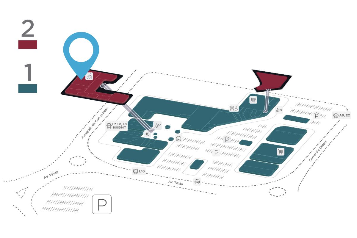 Mapa Newpark Parc Vallès