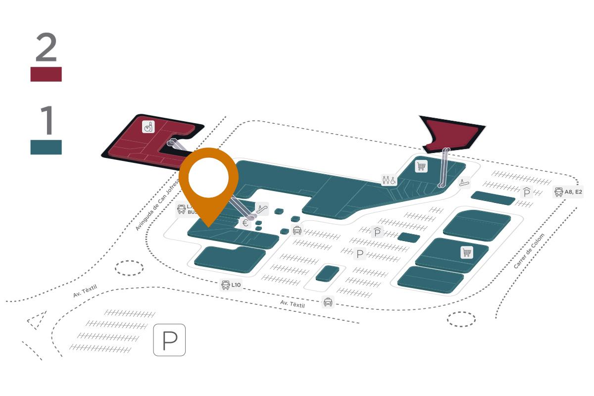 Mapa Rib's Parc Vallès