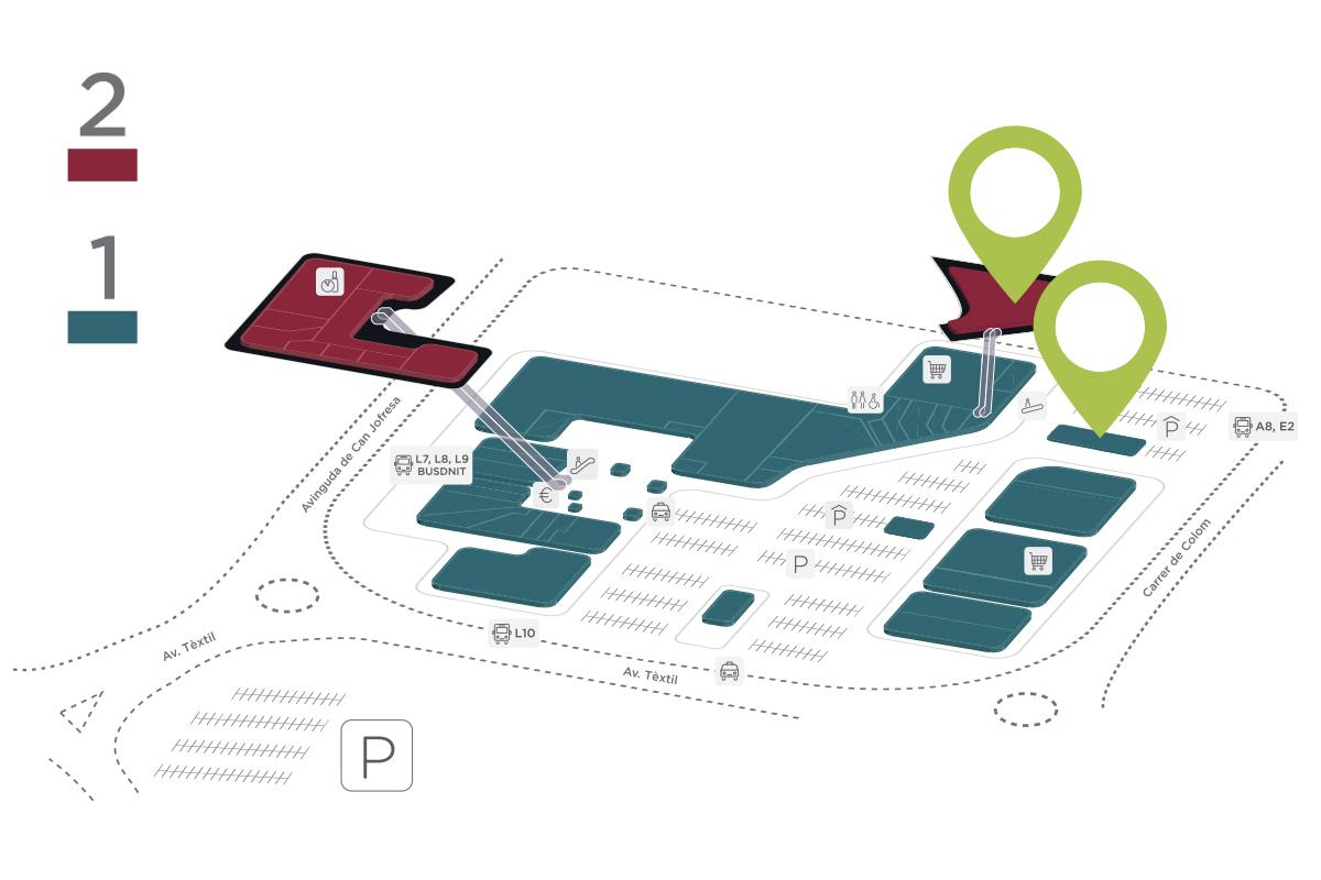 Mapa Star's Gym Padel Club Parc Vallès