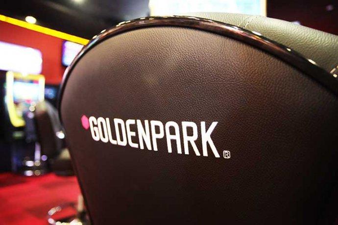 Detall logo Goldenpark