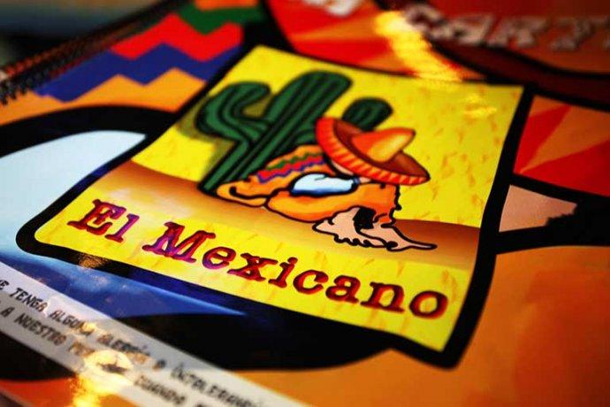 Detall logo El Mexicano