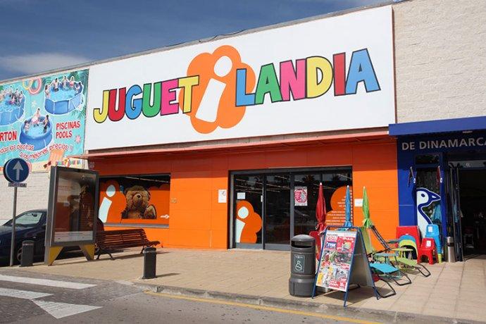 Exterior botiga de joguines i jocs Juguetilandia