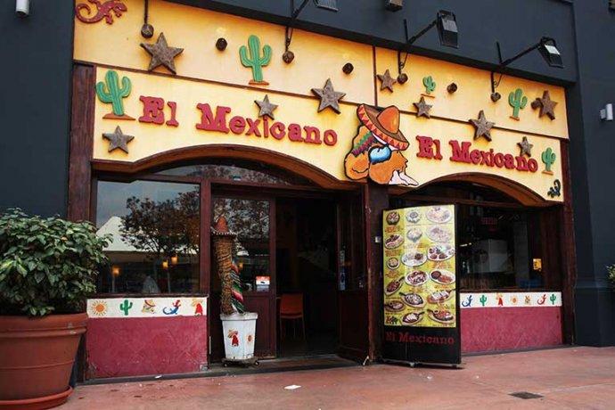 Exterior del restaurant mexicano