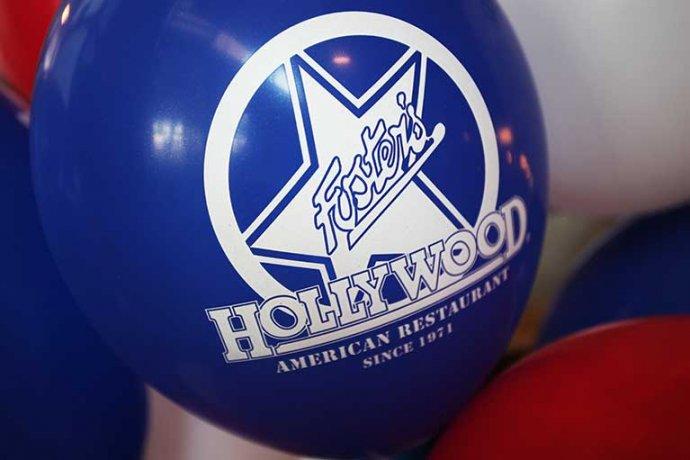 Detall logo Fosters Hollywood