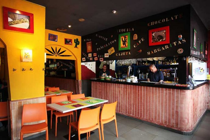 Interior del restaurant mexicano