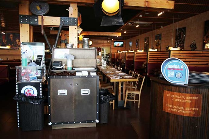 Interior rebedor restaurant Fosters