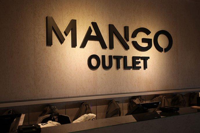 Mango Outlet rètol