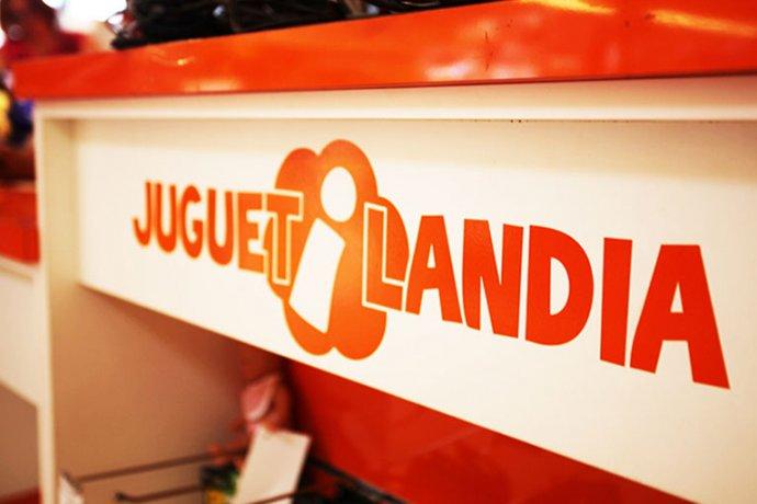 Detall logo Juguetilandia taronja