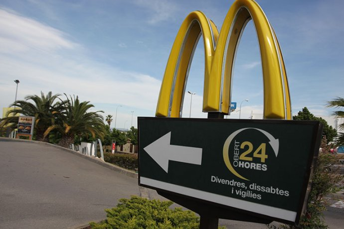 McAuto 24 hores McDonalds