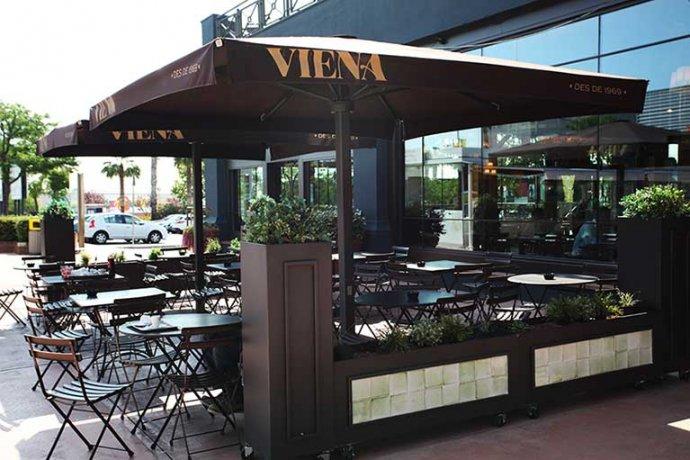 Terrassa exterior Viena Parc Vallès