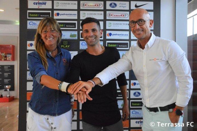 El Terrassa FC i Star's Gym Pàdel Club signen un acord de col·laboració