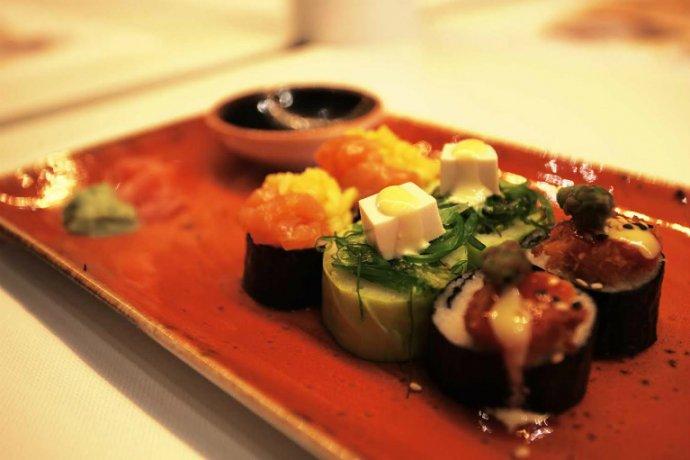 sushi del restaurant udon